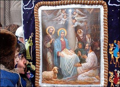 Сентября, армянские открытки с рождеством